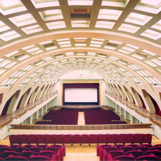 Progetto di illuminazione di Massimo Iarussi per il Teatro Augusteo di Salerno