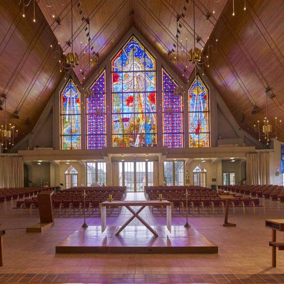 Progetto illuminazione Holy Trinity Cathedral, Auckland, Nuova Zelanda