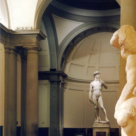 Progetto di illuminazione David di Michelangelo, Firenze