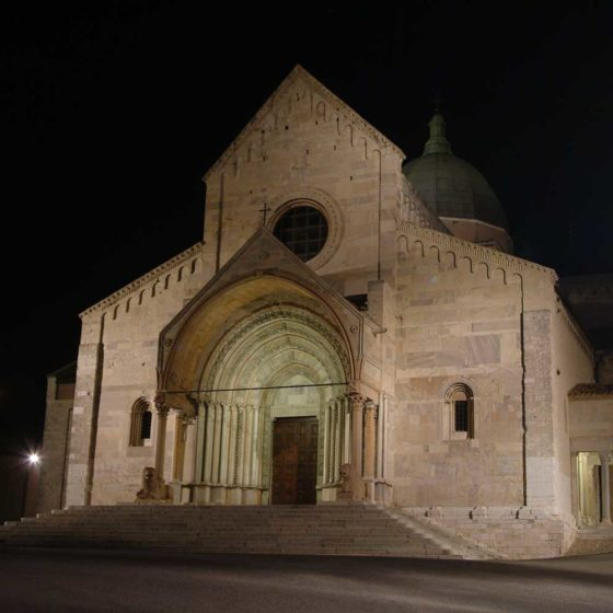Progetto illuminazione Cattedrale san Ciriaco, Ancona