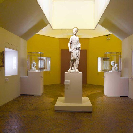 Progetto illuminazione mostra Desiderio da Settignano Firenze