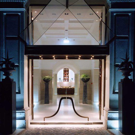 Progetto illuminazione Hotel Rose Garden Roma