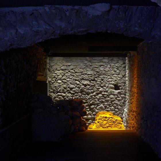 Progetto illuminazione Museo Archeologico regionale di Aosta