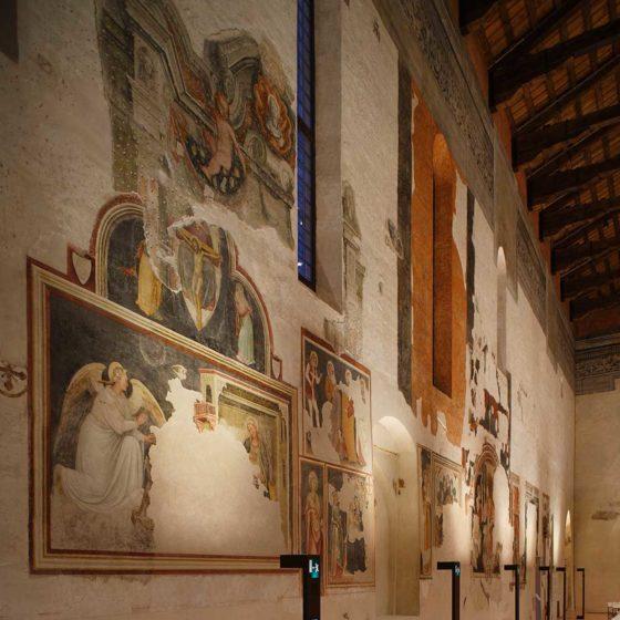 Progetto di illuminazione museale di Massimo Iarussi