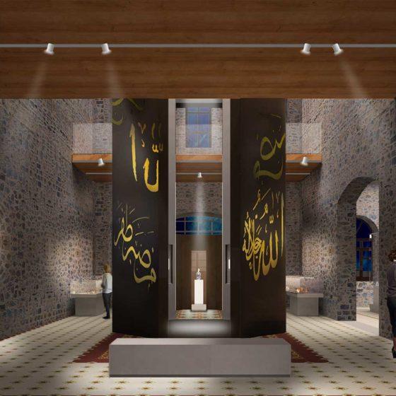 Progetto illuminazione Museo del Vetro, Istanbul