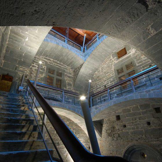 Progetto illuminazione Castello di Verrès, Aosta
