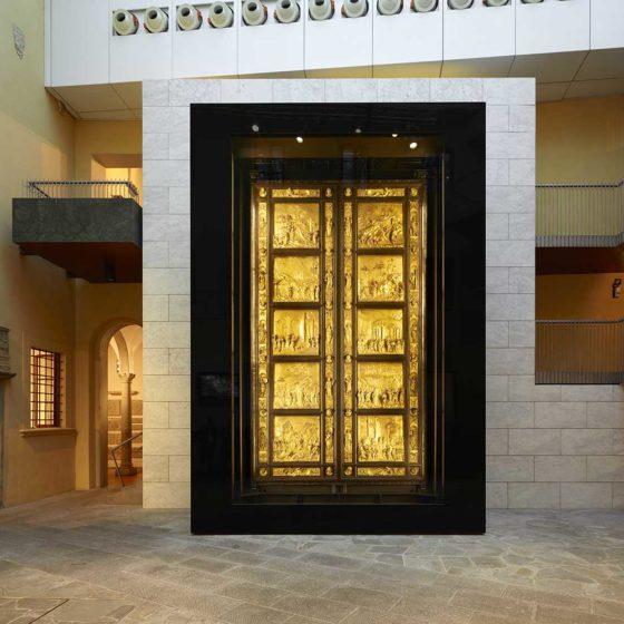 Progetto illuminazione museale Porta del Paradiso, Firenze