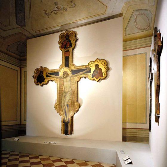 """Progetto illuminazione mostra """"Giotto e il suo tempo"""", Firenze"""