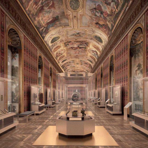 Progetto illuminazione Museo Richelieu, Parigi