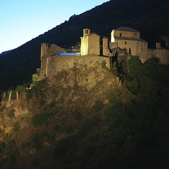 Progetto illuminazione Castello di Quart Aosta