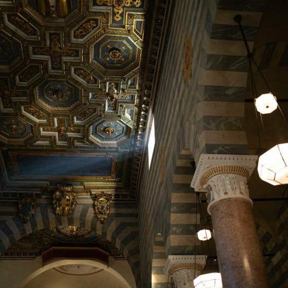 Progetto di illuminazione di Massimo Iarussi per la Cattedrale di Volterra