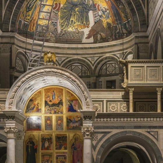 Progetto di illuminazione Basilica di San Miniato a Monte Firenze