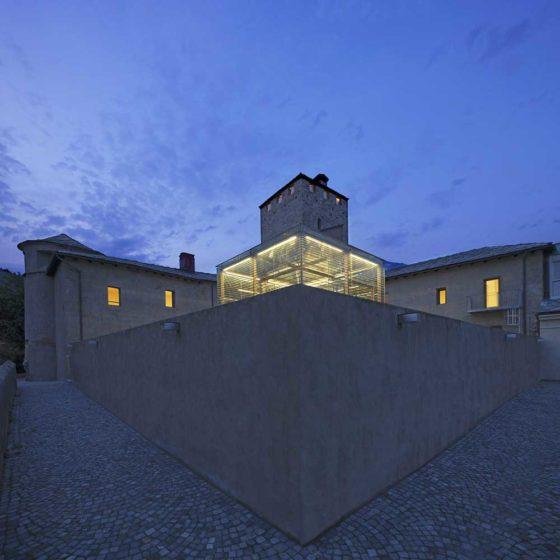 Progetto Illuminazione Complesso dei Balivi Aosta