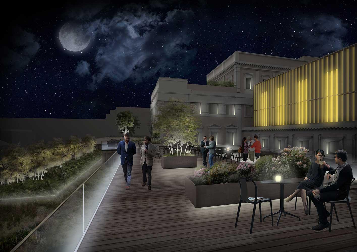 Progetto di illuminazione del complesso immobiliare della Zecca, Roma