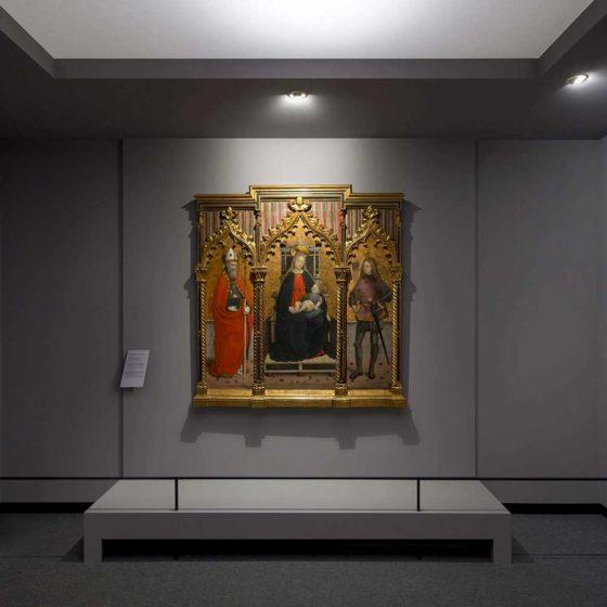 Progetto di illuminazione museale di Massimo Iarussi per la Galleria Sabauda a Torino