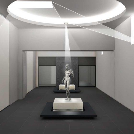 Progetto illuminazione museo Archeologico di Reggio Calabria